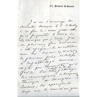 Horsley Charcot letter
