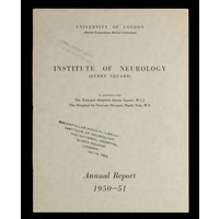 ION Annual Report 1950-51