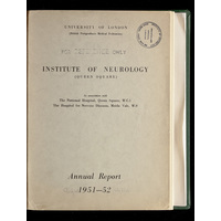 ION Annual Report 1951-52