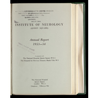 ION Annual Report 1953-54