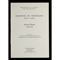 ION Annual Report 1954-55