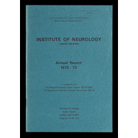 ION Annual Report 1972-73