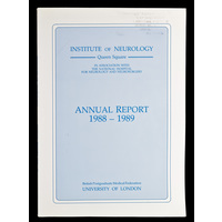 ION Annual Report 1988-89