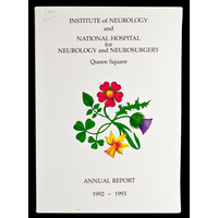 ION and NHNN Annual Report 1992-93
