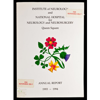 ION and NHNN Annual Report 1993-94