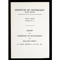 ION Report of the Committee of Management 1961
