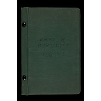 Board of Management minutes Jan 1938-Nov 1945