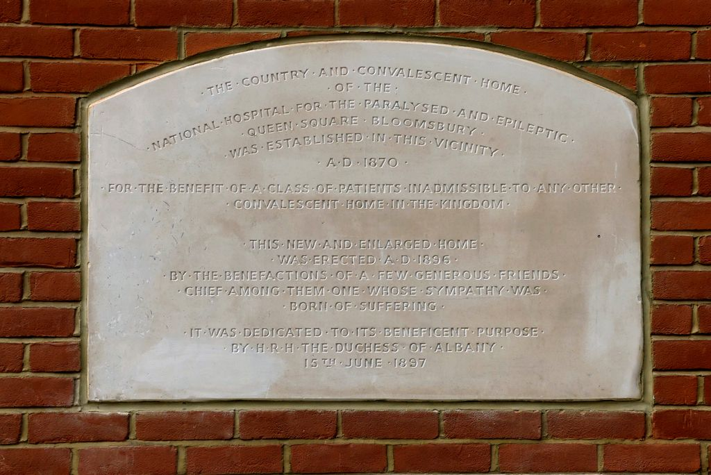 Finchley plaque