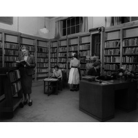 Gowers Library in use