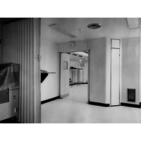 Anaesthetic Room and Operating theatre. May 1974