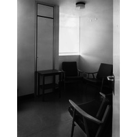 Operating theatre surgeons rest room May 1974