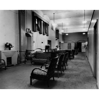 Outpatients Waiting  Area Powis Wing 1954.