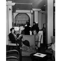 Outpatients Waiting Area Powis Wing 1954