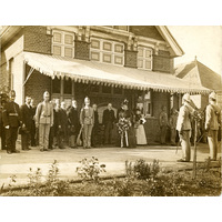 Opening of the new and enlarged Finchley Convalescent Home by the Duchess of Albany, 1896