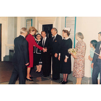 Princess Diana visiting NHNN October 1986