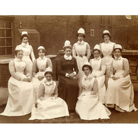 Lady Superintendant  and Senior Nurses/Ward Sisters