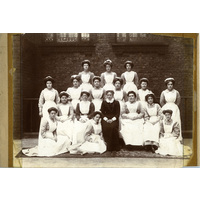 Matron and Hospital Maids
