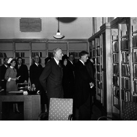Gowers Library with Gordon Holmes & Ernest Gowers