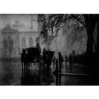 A wet day in Queen Square c.1900