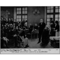 Charcot teaching at Saltetriere