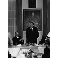 Presentation to the Portrait of J Hughlings Jackson, December 1961
