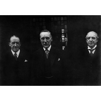 Dr T Grainger Stewart, Captain H W Styles & Mr E Redford