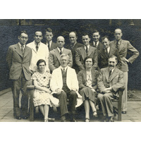Group photograph with Jospeh Godwin Greenfield