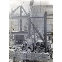 Queen Mary Wing construction 23 March 1936