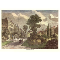 Queen Square gardens 1810