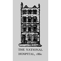 The first building housing the National Hospital 1860