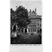 National Hospital postcard