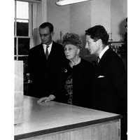 Opening of Alexandra House by Princess Alice, Countess of Athlone. June 1963