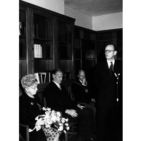 Ceremony to open Alexandra House, by Princess Alice, Countess of Athlone. June 1963