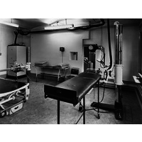 X-Ray scanning room