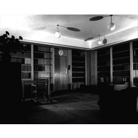 Medical Library in Queen Mary Wing.  Architectural Review 1938