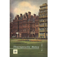 Therapeutic Notes 1964