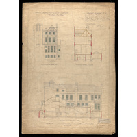 Powis Place Wing: contract drawing no. 4