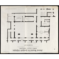 Powis Place Pavilion - basement plan