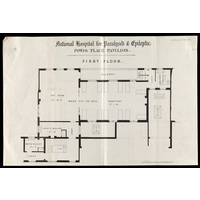 Powis Place Pavilion - first floor plan
