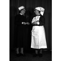 Matron Ling and Sister Windebank, 1960