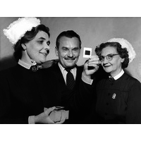 Matron Ling, Geoffrey Robinson and Isobel Cummings