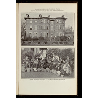 Lonsdale House, Clapham Park, home for disabled sailors and soldiers; basket making class at Lonsdale House
