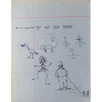 Drawings from Gowers case notes