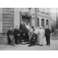 Senckenberg Institut group 1902