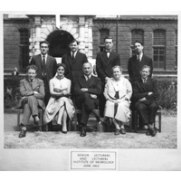 1962 June ION Lecturers Group with caption