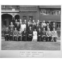 1963 May Clin Clerks etc Group with caption