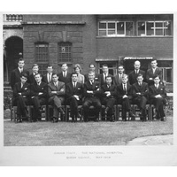 1964 May Junior Staff Group with caption