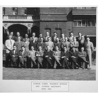 1961 April NH Staff Group & caption