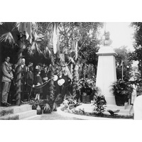 Brown Sequard monument unveiling