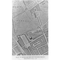 Plan of Queen Square 1746